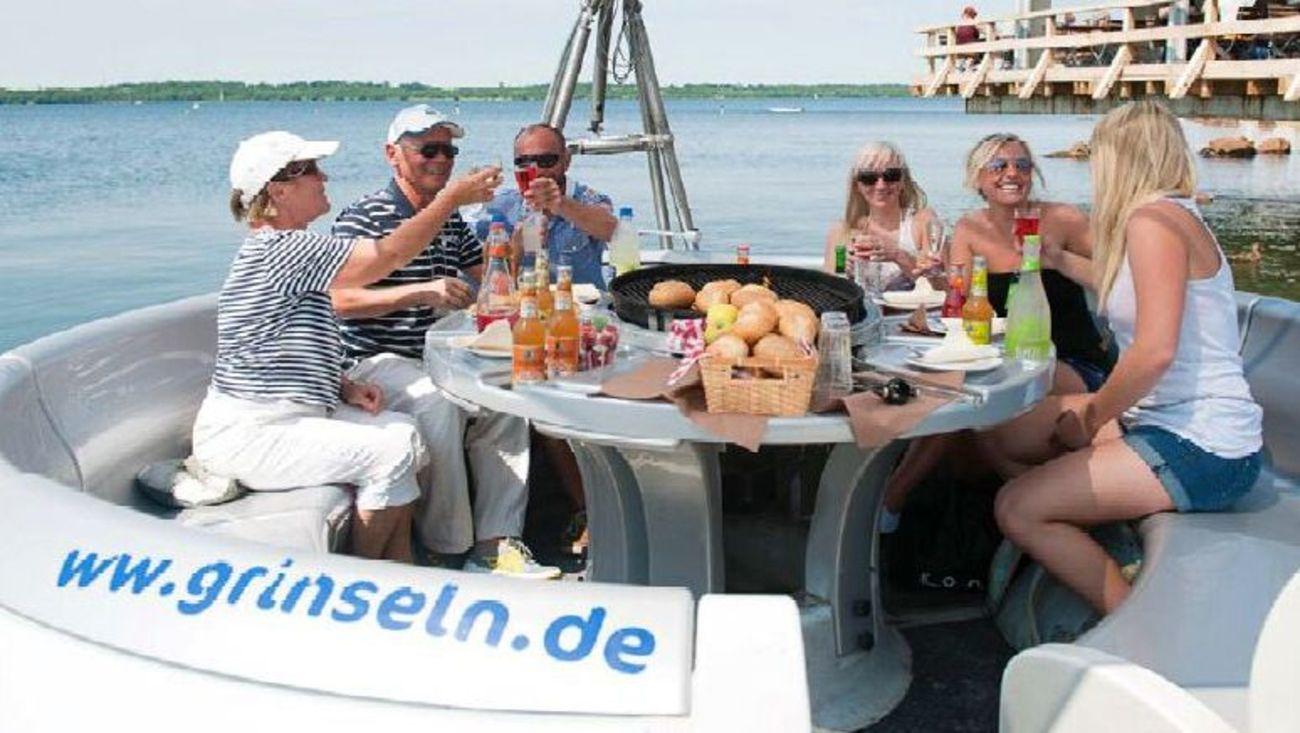 Grinsel Cospudener See - Leipzigseen